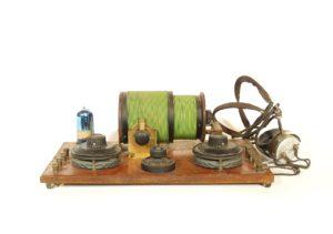 1922 A.C. Gilbert 4018 One-Tube Radio
