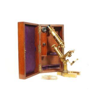 Hartnack & Prazmowski Microscope