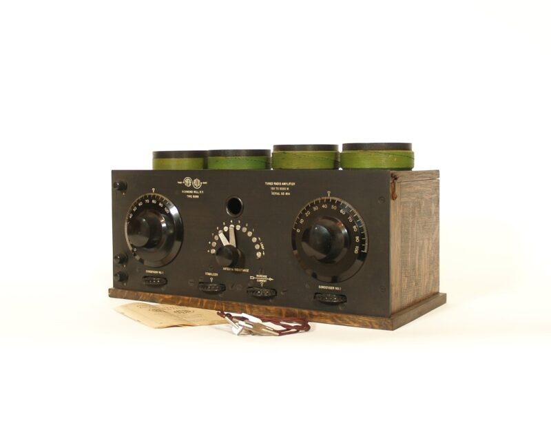 1923 Grebe RORN Tuned Radio Amplifier