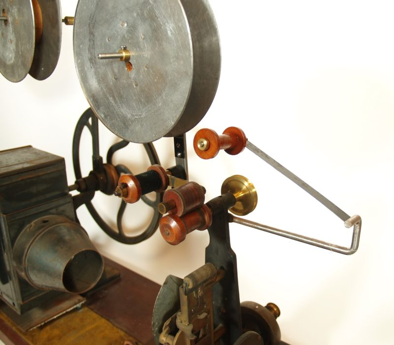 1896 Amet Magniscope -- Early Motion Picture Projector -- In Factory Crate