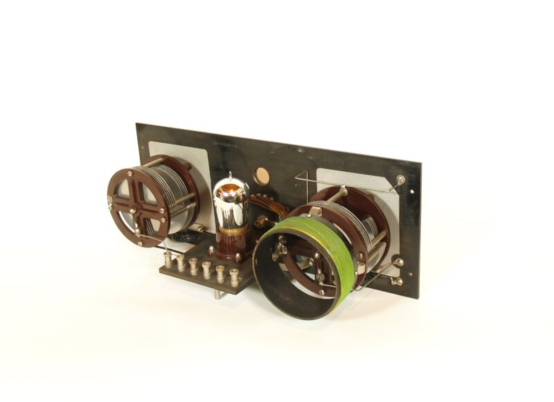 Mint Condition 1923 Grebe RORN Tuned Radio Amplifier With Early Coils & Original Owner's Manual