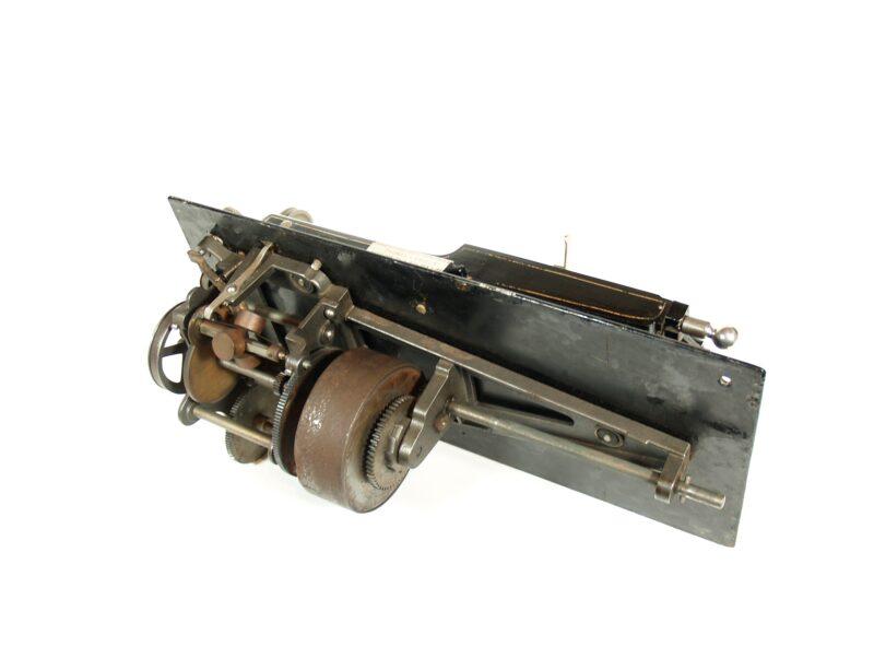 1897 Edison Home Phonograph With Original Listening Rail