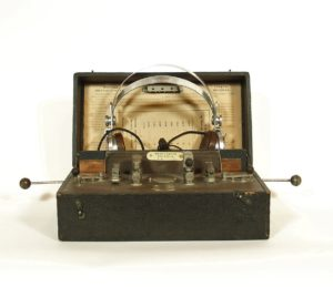 Marconiphone Crystal A Radio, Manufactured C. 1922 by Marconi Wireless