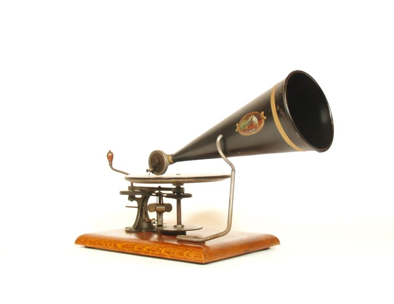1901 Victor Toy Phonograph * Eldridge Johnson's $3 Victor