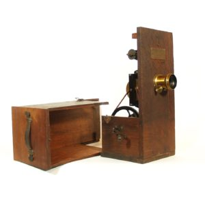 1897 Edison Spool Bank Projecting Kinetoscope * 1st Projecting Kinetoscope
