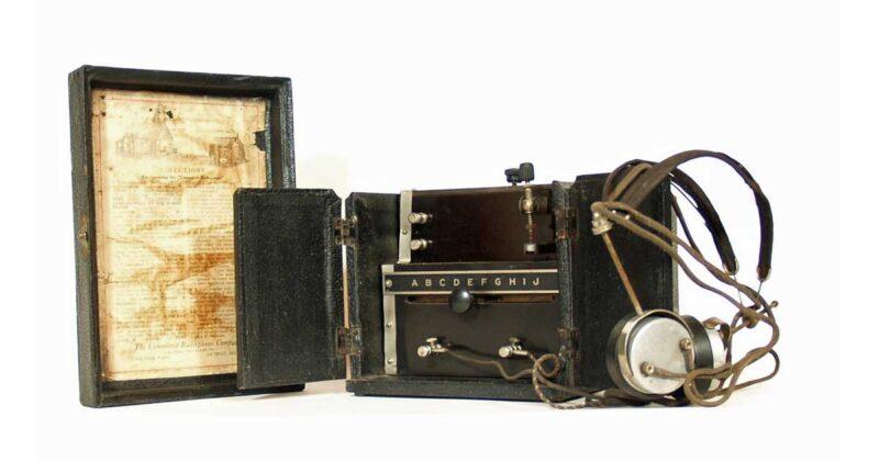 1921 Commerce Radiophone * Detroit, Michigan
