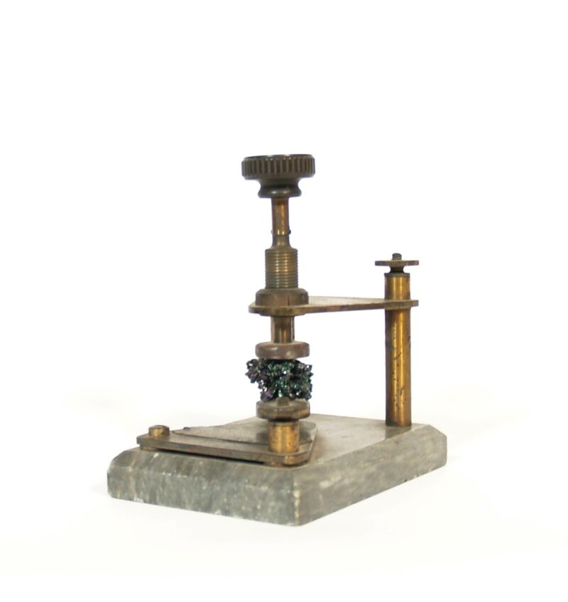 C. 1908 Carborundum Radio Detector * Long Distance Wireless Instrument Co. * Boston