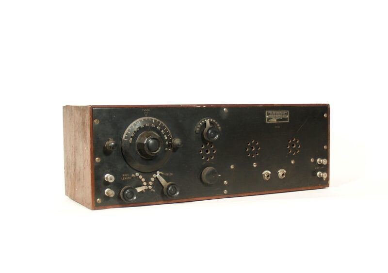 1922 Pennsylvania Wireless GT-2 Regenerative Radio With PA Wireless Headset * New Castle PA