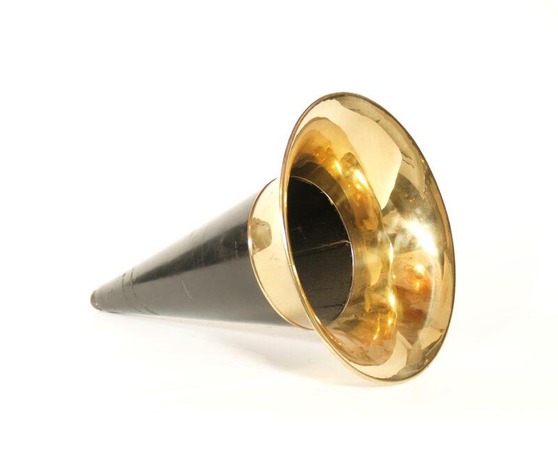 Original Victor Horn For Rigid Arm Phonographs