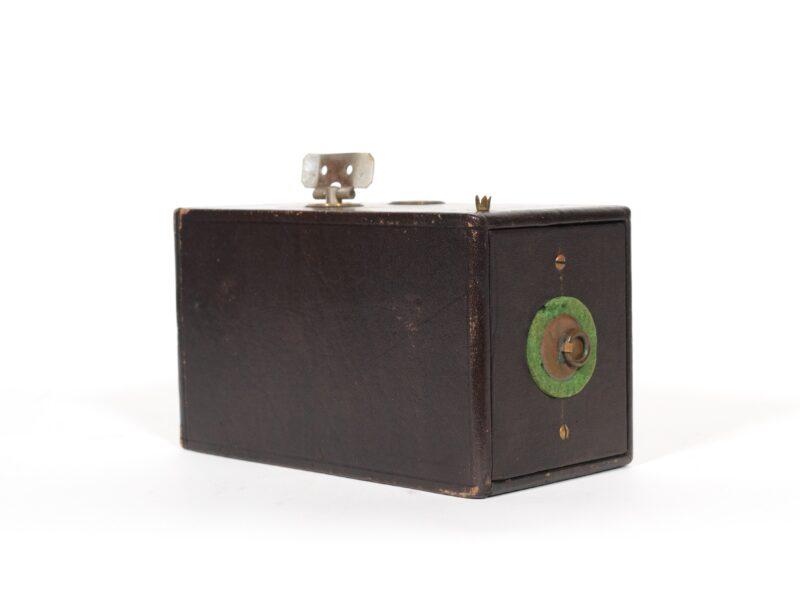 "1888 ""The Kodak"" Camera * Eastman Dry Plate Co. * Historic 1st Kodak"