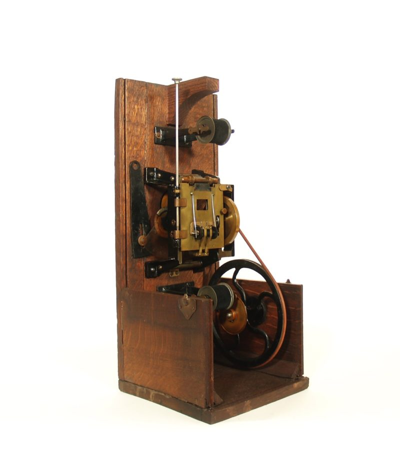 1897 Edison Spool Bank Projecting Kinetoscope * 1st Projecting Kinetoscope