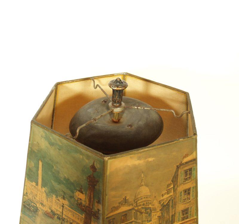 1923 RadiaLamp Horn Radio Speaker