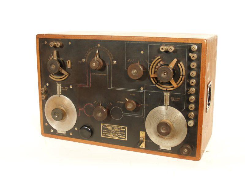 1917 NESCO CN-240 World War I Radio Receiver