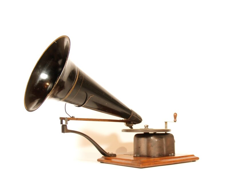 1901 Victor A Phonograph With Eldridge Johnson New Century Sound Box
