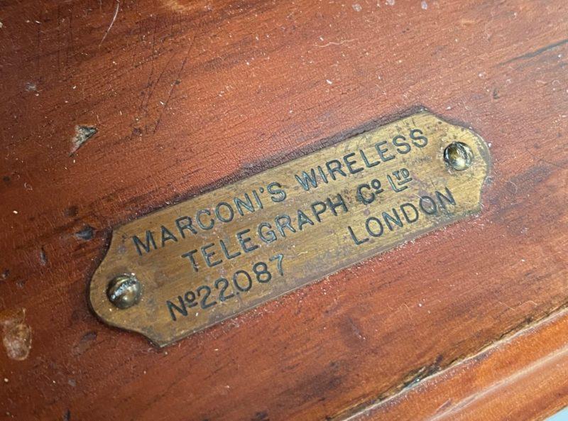 Marconi Spark Gap Transmitter