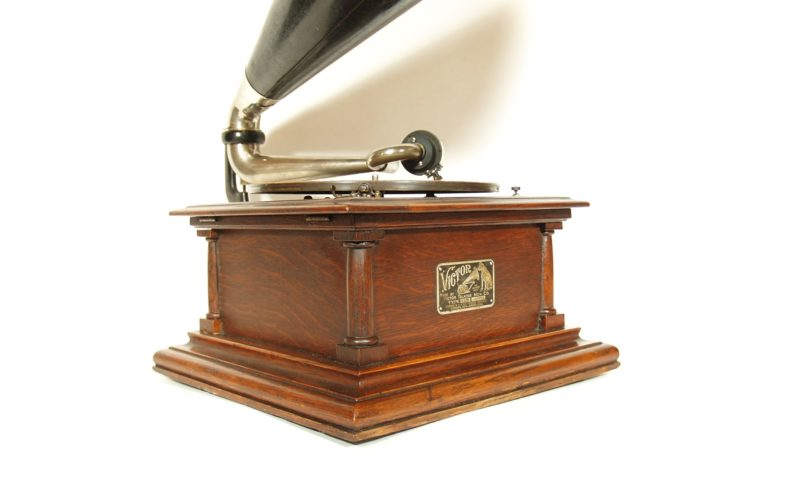 Antique Victor MS Phonograph