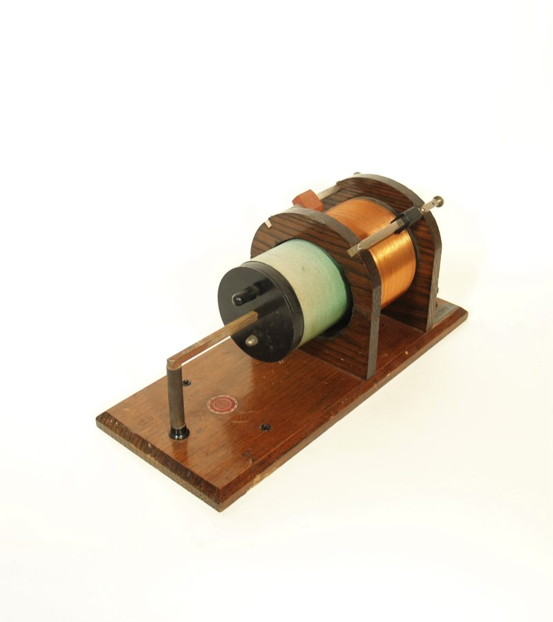 1912 Electro Importing Co. Loose Coupler Radio Tuner * From Henry Ford Museum