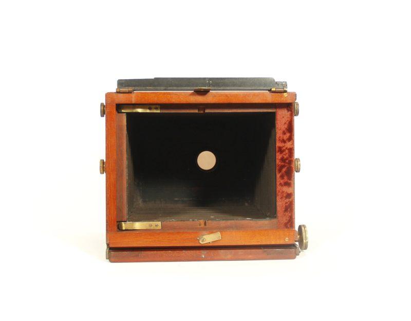 1885 W.I. Chadwick Single Lens Stereo Tailboard Camera
