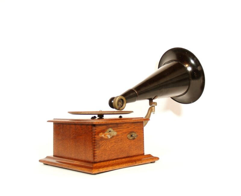 1912 Victor Jr. Disc Phonograph * Uncommon & All-Original * Near Mint Condition