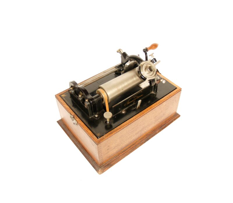 1898 Edison Standard Phonograph With 3-Digit Serial Number