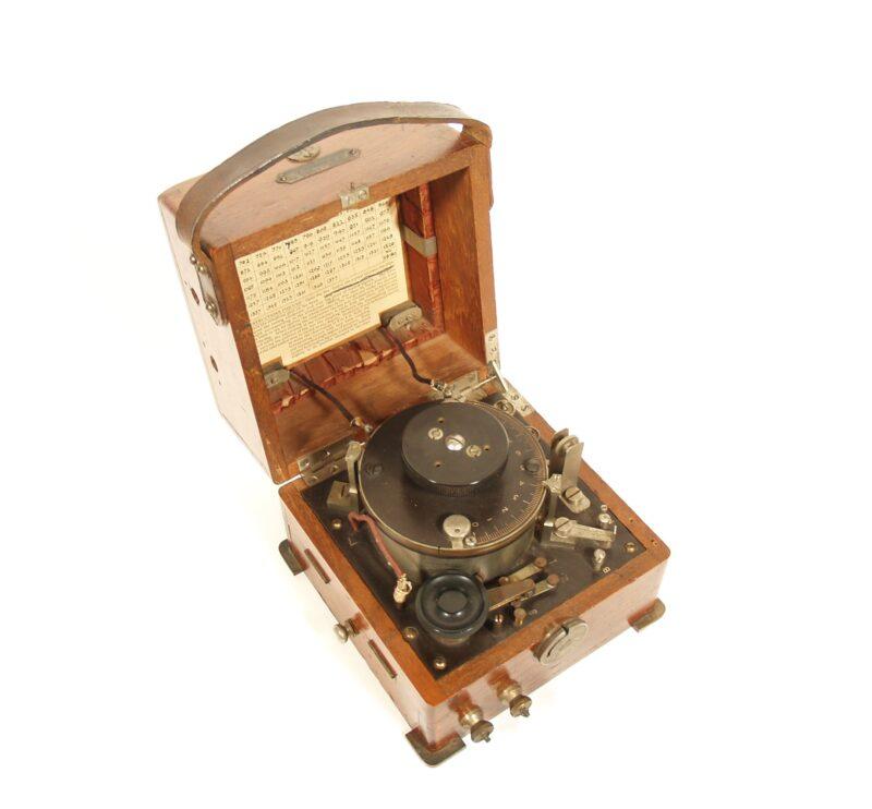 1914 Marconi Radio Wave Meter * Pristine & Complete