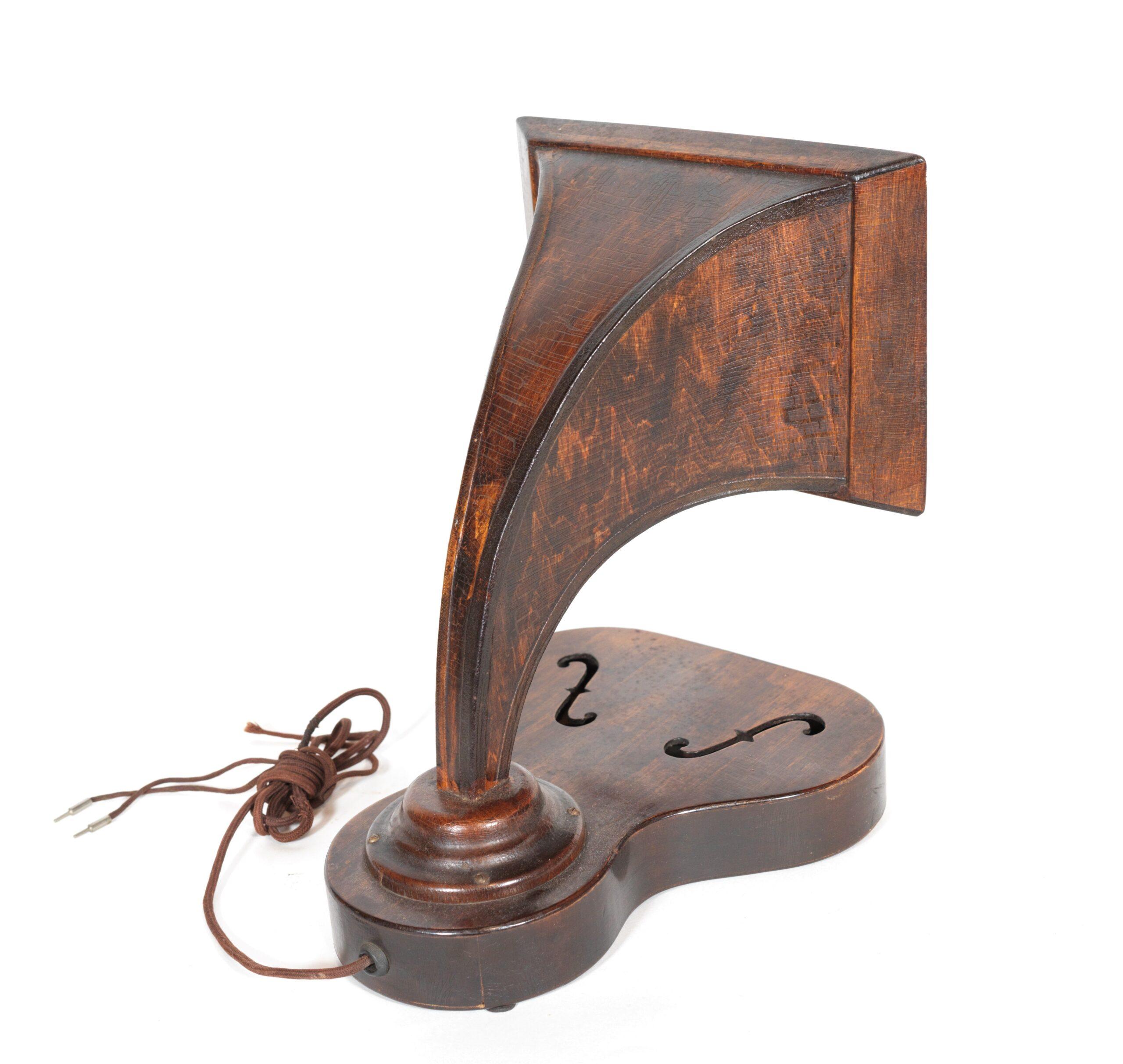 Timbertone Violin Horn Radio Speaker