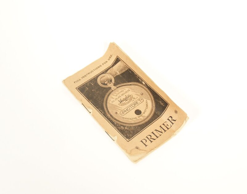 1894 Photoret Pocket Watch Camera