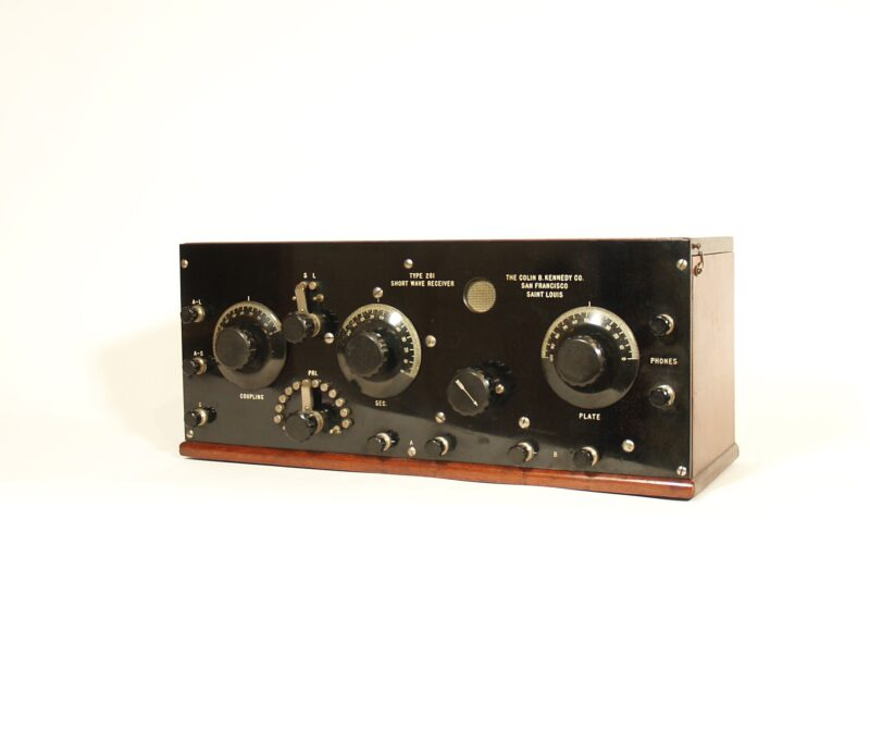 1922 Kennedy 281 Radio & Matching Kennedy 521 Amplifier With Magnavox R3-B Horn