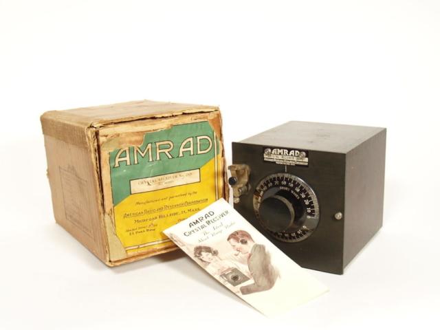 Amrad 2575 Crystal Radio