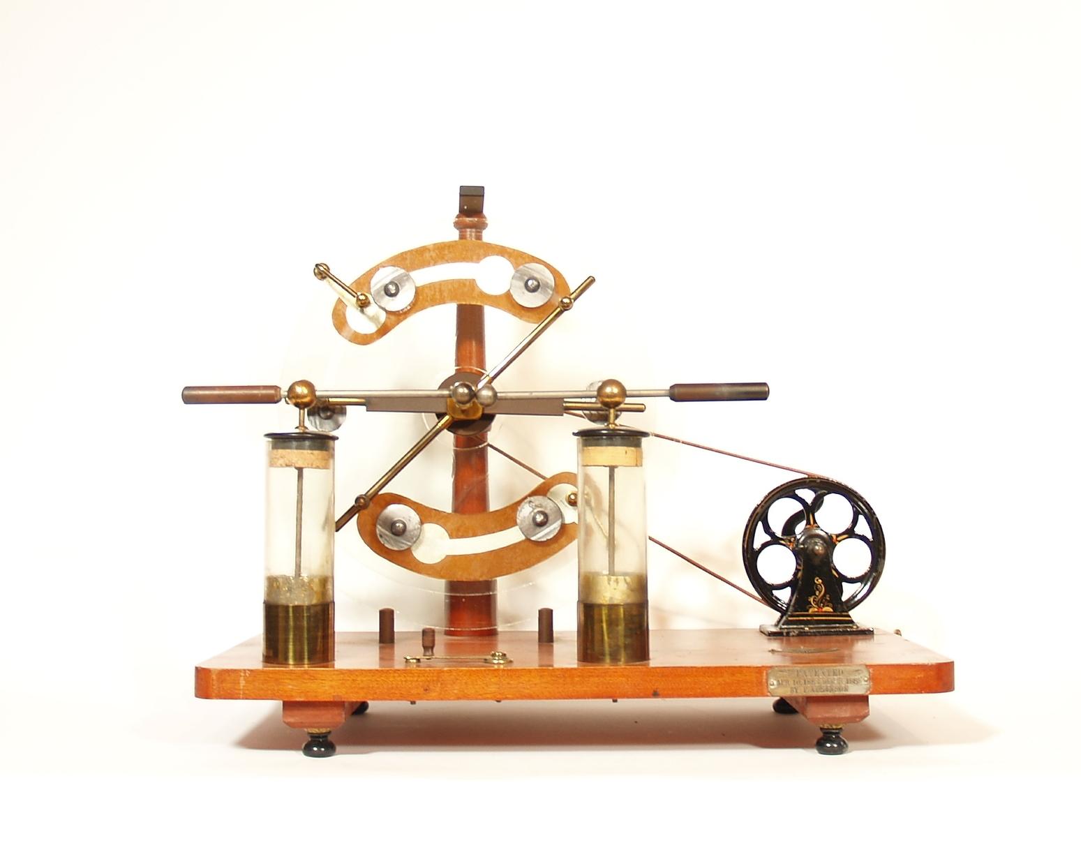 McIntosh Optical Friction Machine
