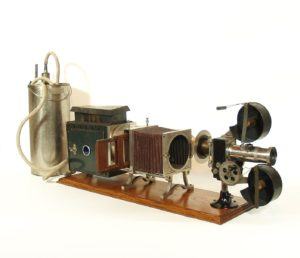 1900 Optigraph No. 2 Motion Picture Machine -- Enterprise Optical, Chicago