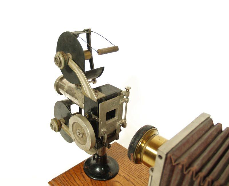 1900 Optigraph No. 2 Motion Picture Machine -- Enterprise Optical, Chicago