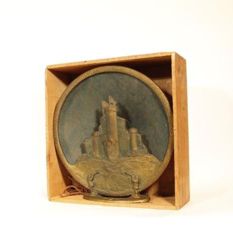 Tower Castle Cone Speaker In Original Crate