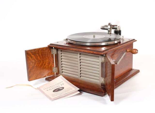 Victrola IV -- 1st Version With Metal Grill