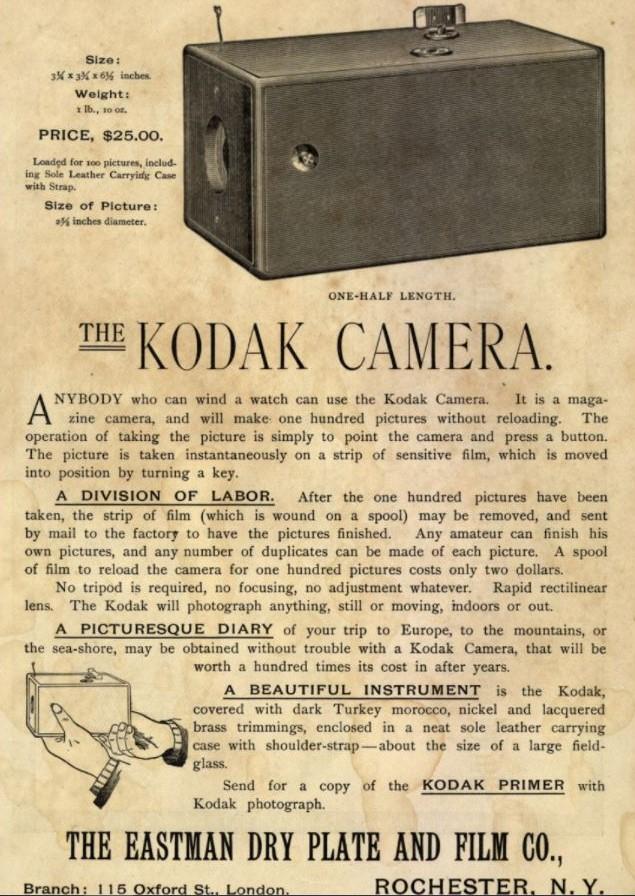 Original 1888 Kodak Camera